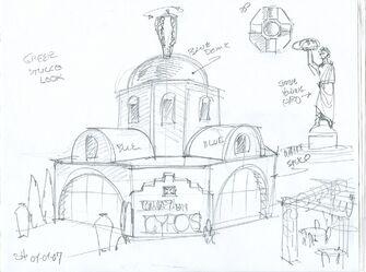 Company of Gyros Concept Art 02 - Greek Stucco Look