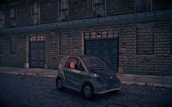 Emu - front right at night in Saints Row IV