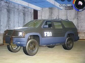FBI - front left in Saints Row 2