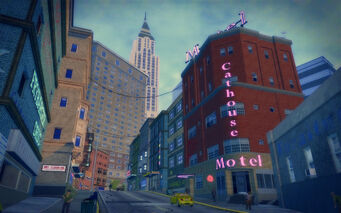 Filmore in Saints Row 2 - Cathouse motel