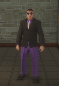 Gang Customization - Bodyguards - male lieutenant 1 - asian