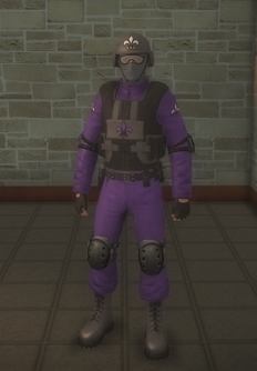 Gang Customization - Bodyguards - male soldier 1 - white