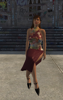 Hitman - Deborah - character model in Saints Row