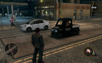 Knoxville - Security variant in traffic in Saints Row The Third