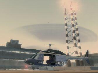 Oppressor - Police variant on helipad at Police Headquarters