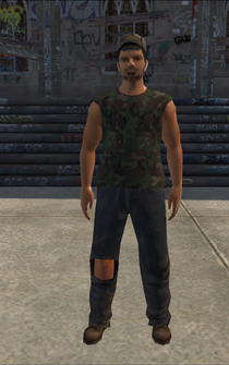 PoorTrash male - LatinoTrash - character model in Saints Row