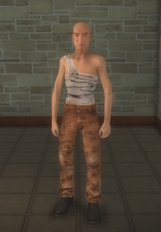 Prisonfight - white Prisonfight male A - character model in Saints Row 2