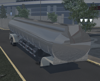 Tank trailer - Standard variant