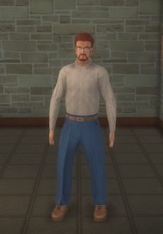 Barbershop - white generic - character model in Saints Row 2