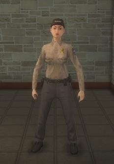 Cop - prison asian female - character model in Saints Row 2