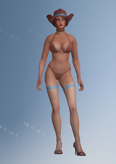 Dominatrix placeholder - Unused - character model in Saints Row IV