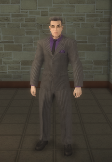 Johnny Gat - suit - character model in Saints Row 2