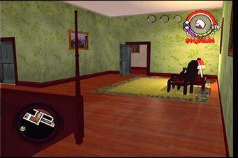 Raykins Hotel - green bedroom