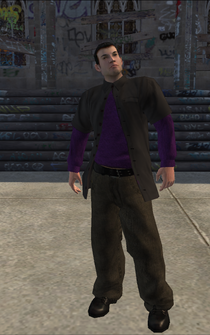 Saints male Killa-A - WhiteRedShirt - character model in Saints Row