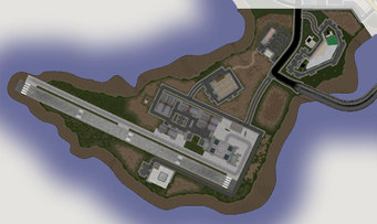 Wardill Airport - Saints Row map