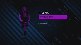 Blazin completion screen in Saints Row IV gameplay preview