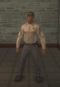 Cop - prison black male - character model in Saints Row 2