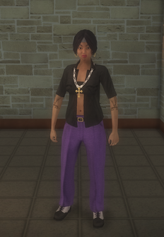 Gang Customization - Gangster - female lieutenant - hispanic