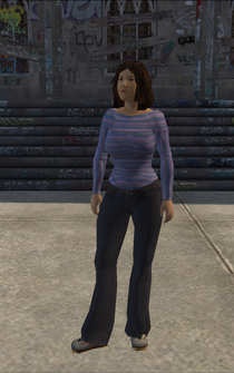 Generic young female 02 - asianSleeve - character model in Saints Row