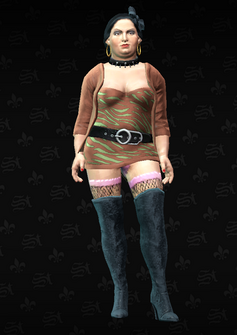 Ho04 - Roseanne - character model in Saints Row The Third