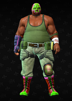 Luchador grunt 2 - Reggie - character model in Saints Row The Third