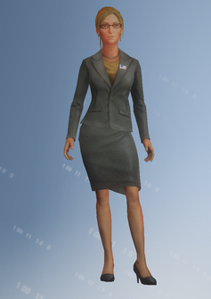 Monica Hughes - character model in Saints Row IV