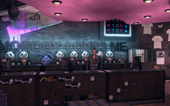 Nobody Loves Me - interior counter in Saints Row The Third