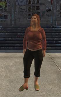 PoorHeavy female - hispanic - character model in Saints Row
