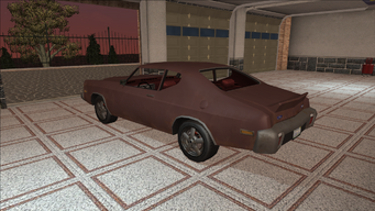 Saints Row variants - Bootlegger - Beater - rear left
