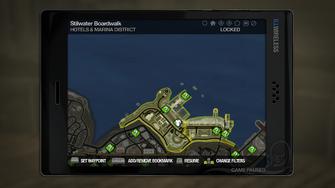 Secret Area - Marina Lighthouse on map