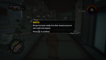 Snatch tutorial in Saints Row 2
