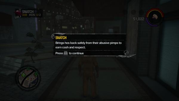 Snatch tutorial in Saints Row 2