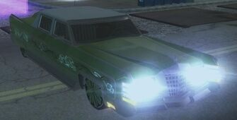 Sons of Samedi Churchill with lights in Saints Row 2