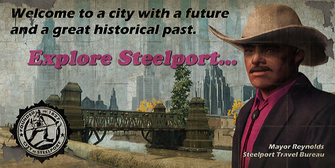 Steelport b d SRTT sign