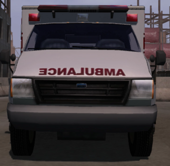 Ambulance - front in Saints Row