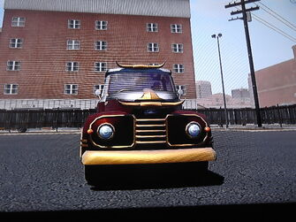 Betsy - 2 horns - front in Saints Row