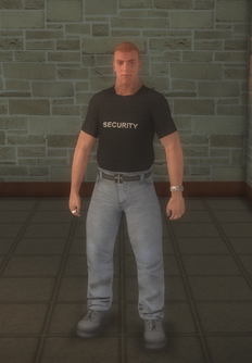 Bouncer - white - character model in Saints Row 2