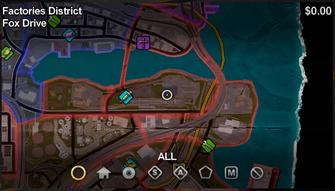 Fox Drive map in Saints Row