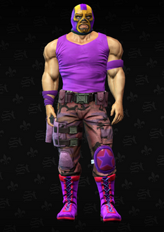 Gang Customization - Luchador 5 - Clifford - in Saints Row The Third