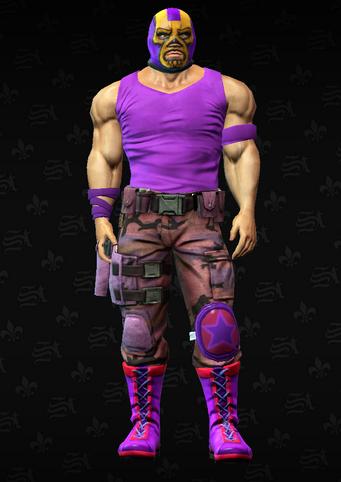 Gang Customization - Luchador 5 - Clifford - in Saints Row The Third