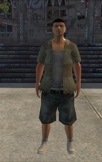Poor male - asian - character model in Saints Row