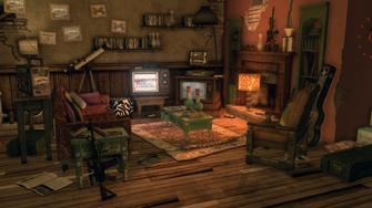 Shaundi's Loft - living room from door