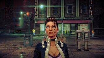Shaundi - face without Super Powers in Saints Row IV