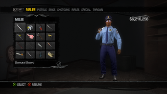 Weapons Cache - Melee in Saints Row 2