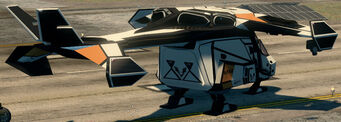 Condor - parked - rear right in Saints Row The Third