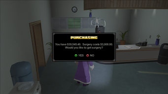Image As Designed - Would you like to get Surgery prompt in Saints Row