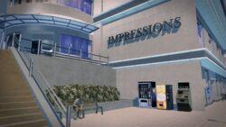 Impressions in Harrowgate - exterior close