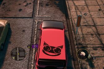 Kayak - Genki variant top parked in Saints Row The Third