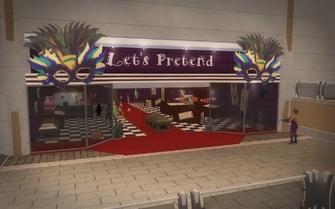 Let's Pretend exterior in Saints Row 2