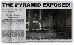 Newspaper ep02 Pyramid Scheme